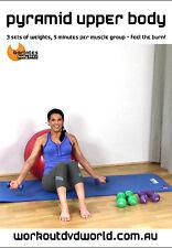 Strength Training EXERCISE DVD - Barlates Body Blitz PYRAMID UPPER BODY!