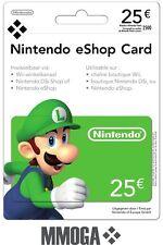 Nintendo eShop Card 25 Euro per E-Mail Versand - Nintendo eShop Key 25€