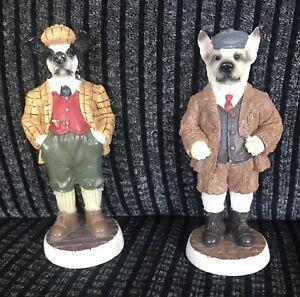 Regency Fine Arts The Dogs Of Dogginton St Peter, Bruce And Samuel Figurines