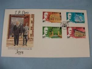 First Day Issue Stamp Cover 'T.B. Davis'  FDI 4 stamps issue 1985 JPO/FDC