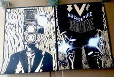 Arcade Fire Sunshine Variant Concert 2 Poster Set Reflektor 2014