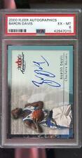 2000-01 Fleer Autographics Baron Davis Signed AUTO Autograph PSA Graded Card NBA