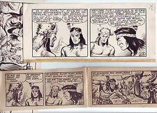 Blauer Pfeil Nr. 4 Originalzeichnung 32 Seiten von Enzo Chiomenti Lehning Kocis