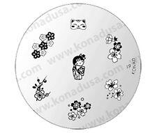 1 Konad Stamping Nail Nails Design Art Image Plate S9