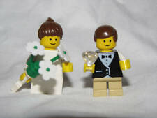 LEGO RING BEARER & FLOWER GIRL Wedding Minifig minifigure cake topper bride