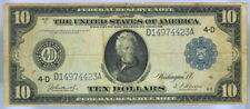 VG SERIES 1914 $10 FEDERAL RESERVE NOTE CLEVELAND   4-D  (23)