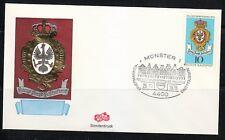 Germany 1976 cover SST Sonderstempel Munster Briefmarken ausstellung