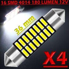 2pz LAMPADINE LED luci targa SILURO 36mm NO ERRORE N31