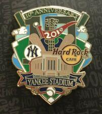 2019 HARD ROCK NEW YORK YANKEE STADIUM 10TH ANNIVERSARY MLB BASEBALL LE PIN
