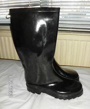 Black Wellington boots Size UK 7 EU 40