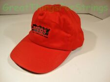 Arcos Baseball Hat Cap Red Black Adjustable Strap One Size New