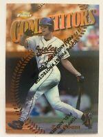 1997 Topps Finest Bronze Refractor CAL RIPKEN JR. #252, Orioles HOF