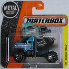 Matchbox - Torque Titan Truck hellblau Neu/OVP