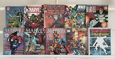 Marvel Magazines Punisher X-Men 10 Marvel Magazine Book Lot Comics Run Box