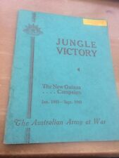 Jungle Victory - The New Guinea Campaign :Jan 1943 - Sept 1943