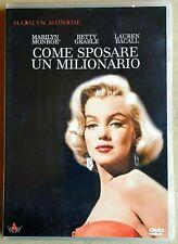 COME SPOSARE UN MILIONARIO (1953)  MARILYN MONROE - DVD USATO - 20th CENTURY FOX