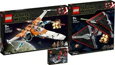LEGO Star Wars 75273 X-Wing 75272 Sith TIE Fighter 75266 N1/20