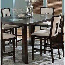 "Steve Silver DE800PT Delano Counter Table 44""X60""X 78""X W/ 18"" Leaf NEW"
