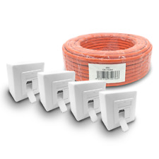 Cat 7 verlegekabel 100m cable de red 4x red lata cat6a lata LAN s/cable FTP