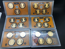 Presidential Dollar Prf $1 COIN SETS 23-Coins No Box. 9-12, 21st-40th President