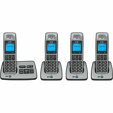 BT 2500 QUAD DIGITAL CORDLESS PHONE + ANSWER MACHINE