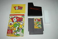 Yoshi Nintendo NES Video Game Complete in Box
