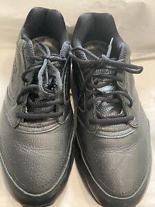 Men's Brooks Size US 11 EU 45 Addiction Walker Black Shoes Lace Up Sneakers