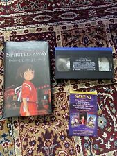 Spirited Away Vhs Disney Clamshell Hayao Miyazaki Studio Ghibli Anime Flaws