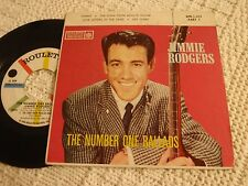 JIMMIE RODGERS ROULETTE EP 313  THE NUMBER ONE BALLADS  TAMMY HEY THERE & 2