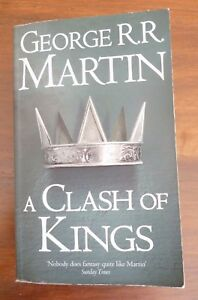 A CLASH OF KINGS, George R. R. Martin  pb  Game of Thrones