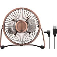 Goobay - Ventilatore USB da 4 pollici in Bronzo per scrivania (a3v)