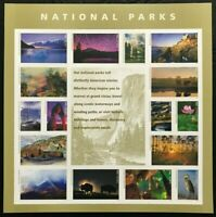 National Parks Forever Stamps Sheet of 16 Stamps Scott 5080