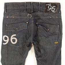 Mens G-Star 5620 HERITAGE EMBRO TAPERED Combat Style  Dark Blue Jeans W33 L32