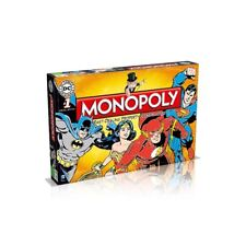 DC Comics Retro Monopoly Board Game