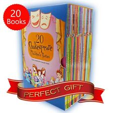 Shakespeare Childrens Stories 20 Books Boxed Complete Collection Pack Gift Set