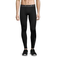 Nike Dri-Fit Knit Workout Pants sz L Large Black