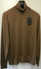 Wool Polo Neck Regular Thin Knit Jumpers & Cardigans for Men