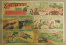 Superman Sunday Page #90 by Siegel & Shuster from 7/20/1941 Half Page:Year #2!