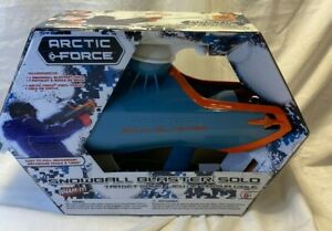 Wham-O Snowball Blaster Arctic Force Solo Target Game 39026 Winter Snow Fun New