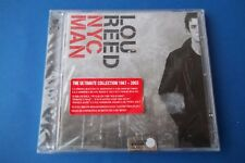 """LOU REED  """"NYC MAN """" CD DOPPIO 2003 THE ULTIMATE COLLECTION '67-'03 BMG SEALED"""