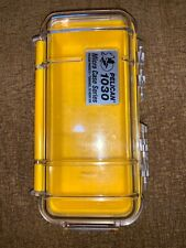Pelican 1030 Micro Case (Clear Yellow)