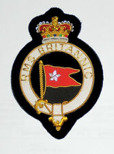 UK White Star Line RMS Britannic Ocean Liner Olympic Class Crest Patch Steamship