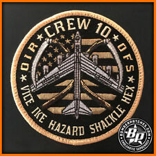 23d EXPEDITIONARY BOMB SQUADRON 23 EBS CREW 10 EMBROIDERED PATCH OIR 2017 B-52H