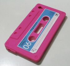 Cassette Tape Design Silicone Soft Cover Case For Apple iPod Touch 4