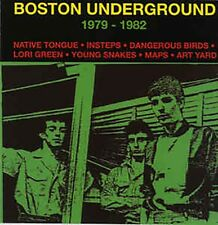 Boston Underground-Various Artists-80s Post Punk CD-Art Yard/Maps/Young Snakes