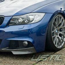 BMW 2009-2011 3-SERIES LCI E90 E91 M-TECH FRONT BUMPER SPLITTER SPOILER VALANCE