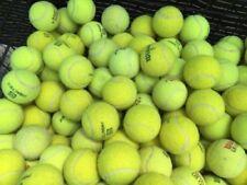 10 Used Tennis Balls - Grade A - Mostly Wilson Penn