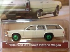 Greenlight 1984 FORD LTD Crown Victori Wagon GREEN MACHINE 1/64 MIBP beige sand