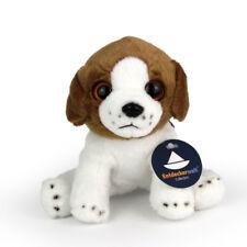 Stofftier kleiner Beagle Welpe, Baby, Hund, Plüschtier (H. ca. 13 cm)