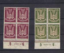 DR 1923 Flupostmarke 237 und 264 mit HAN ungebraucht(ohne Gummi)